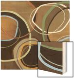 14 Friday Square I - Brown Circle Abstract