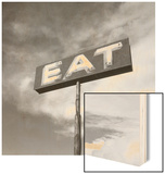 "Vintage ""Eat"" Restaurant Sign"