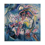 Moscow I, 1916 Giclée par Wassily Kandinsky