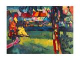Murnau, 1909 Reproduction d'art par Wassily Kandinsky