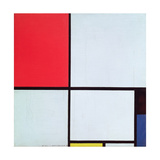 Composition with Red  Black  Blue and Yellow  1928