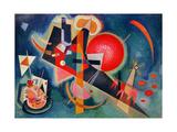 In Blue, 1925 Reproduction d'art par Wassily Kandinsky
