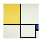 Composition with Blue and Yellow; Composition Avec Bleu Et Jaune  1931