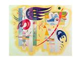 Dominant Violet, 1934 Giclée par Wassily Kandinsky