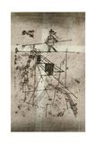 Tightrope Walker; Seiltanzer (Kornfeld 95 IV B)  1923