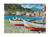Rapallo  Boats  1905