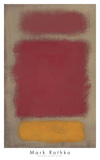 Sans titre, 1968 Reproduction d'art par Mark Rothko