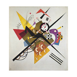 On White II, 1923 Reproduction d'art par Wassily Kandinsky