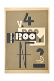 Cover for a 1923 Issue of the Art Magazine 'Broom'  1923
