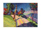 Autumn Landscape  Murnau  1908