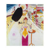 Woman in Moscow  1912