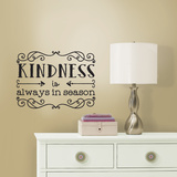 Kindness Quote Peel & Stick Wall Decals