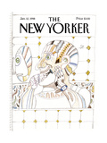 The New Yorker Cover - January 12  1998