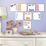 Days of the Week Planner Dry Erase Peel and Stick Wall Decals