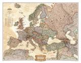 Europe Political Map  Executive Style