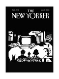 The New Yorker Cover - January 17  2005