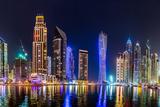 Dubai Marina Cityscape  UAE
