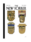 The New Yorker Cover - November 1  2004