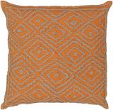 Atlas Birdseye Linen Pillow Poly Fill - Dusty Orange