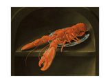 Lobster on a Delft Dish