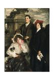 Hylda  Almina and Conway  Children of Asher Wertheimer