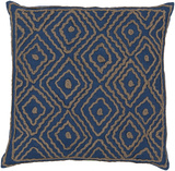Atlas Birdseye Linen Pillow Poly Fill - Blue