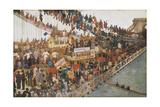 Hammersmith Bridge on Boat-Race Day