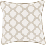 Laticia Poly Fill Pillow - Ivory