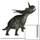 Styracosaurus Dinosaur Roaring