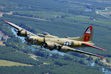 B-17 Flying Fortress Flying over Concord  California