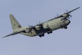 A C-130J Super Hercules of the Royal Australian Air Force