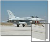 A United Arab Emirates Air Force F-16E Block 60 at Konya Air Base