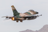 An Aggressor F-16C Fighting Falcon of the US Air Force