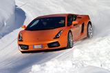 Lamborghini Gallardo mit Winterreifen