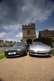 Aston Martin V8 Vantage und Porsche 911 Carrera S