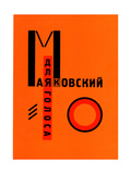 "Cover ""For the Voice"" by Vladimir Mayakovsky"