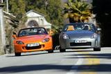 Honda S 2000 und Nissan 350 Z Roadster