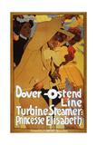 Dover-Ostend Line  Turbine Steamer: Princess Elisabeth