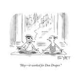"""Hey—it worked for Don Draper"" - Cartoon"