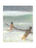 Fishermen Hauling Nets  2015
