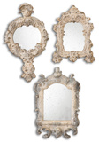 Rustic Artifacts Reflection Mirrors  S/3