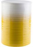 Waverly Ceramic Stool - Lemon