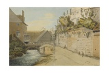 Exeter: Between the Quay Gate and West Gate Outside the City Walls  1791