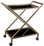 Zafina Gold Bar Cart