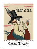Wabbit About Town - Eustace Tilley
