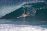 USA  Hawaii  Oahu  Surfers in Action at the Pipeline