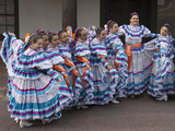 New Mexico  Santa Fe Hispanic Folkloric Dance Group  Bandstand 2014