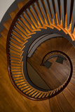 USA  Kentucky  Pleasant Hill  Spiral Staircase at the Shaker Village