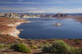 Arizona  Lake Powell at Wahweap  Far Shoreline Is in Utah
