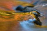 USA  Michigan  Upper Peninsula Bond Falls Reflections in Fall